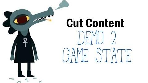 Cut Content Night in the Woods - Demo 2 Game State