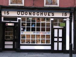 O'Donoghue pub Dublin Ireland