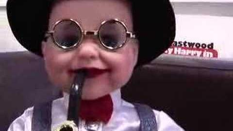 Weird Pipe Smoking Dancing Baby