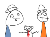 Huck And Chuck/Dora The Explorer Hacked