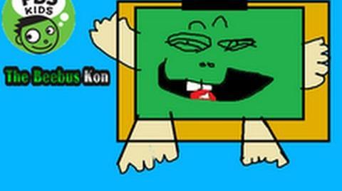 Creepypasta PBS Kids The Beebus Kon Lost Episode VHS Tape