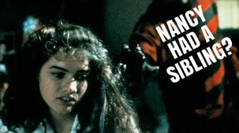 (1984) Nightmare On Elm St Deleted Scene Nancy had a Sibling?