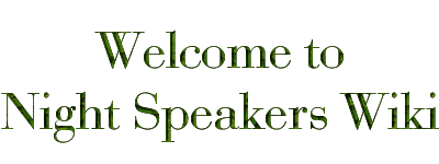 The Night Speakers Wiki for information about the books by Ali Sparkes