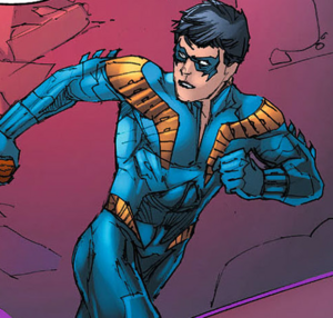 Nightwing's V1 Suit (Prime Earth)