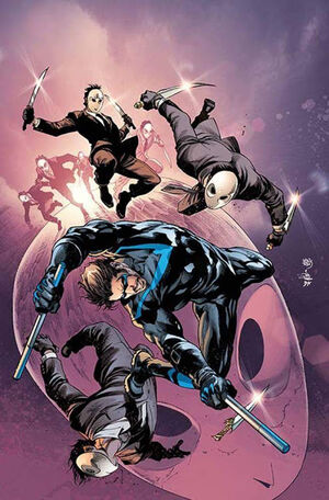 Nightwing Vol 4 2 Textless Variant