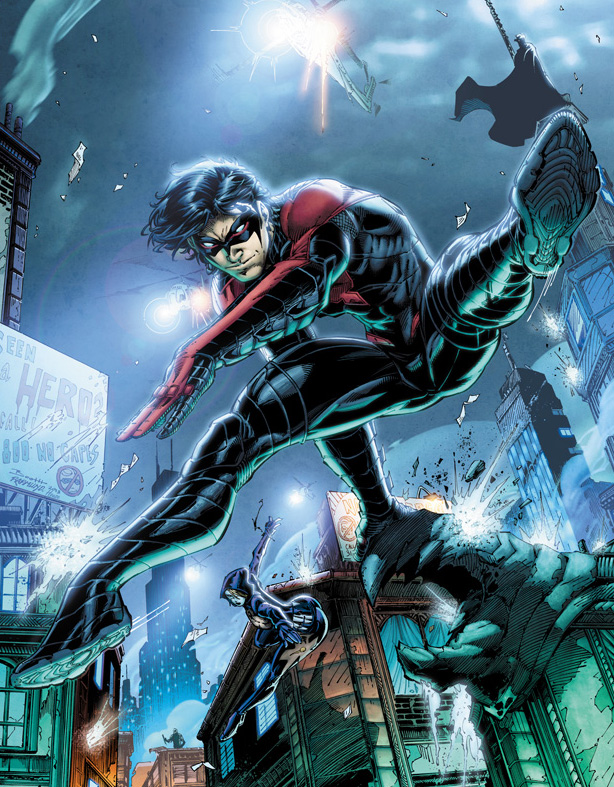 Nightwing New 52 Prime Earth Costume