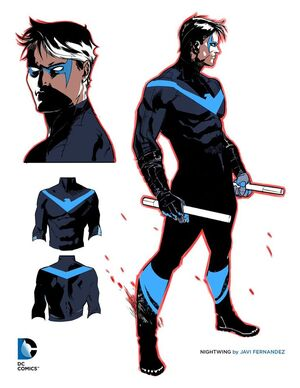 Nightwing Rebirth Costume