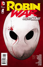 Robin War Issue 1 Cover