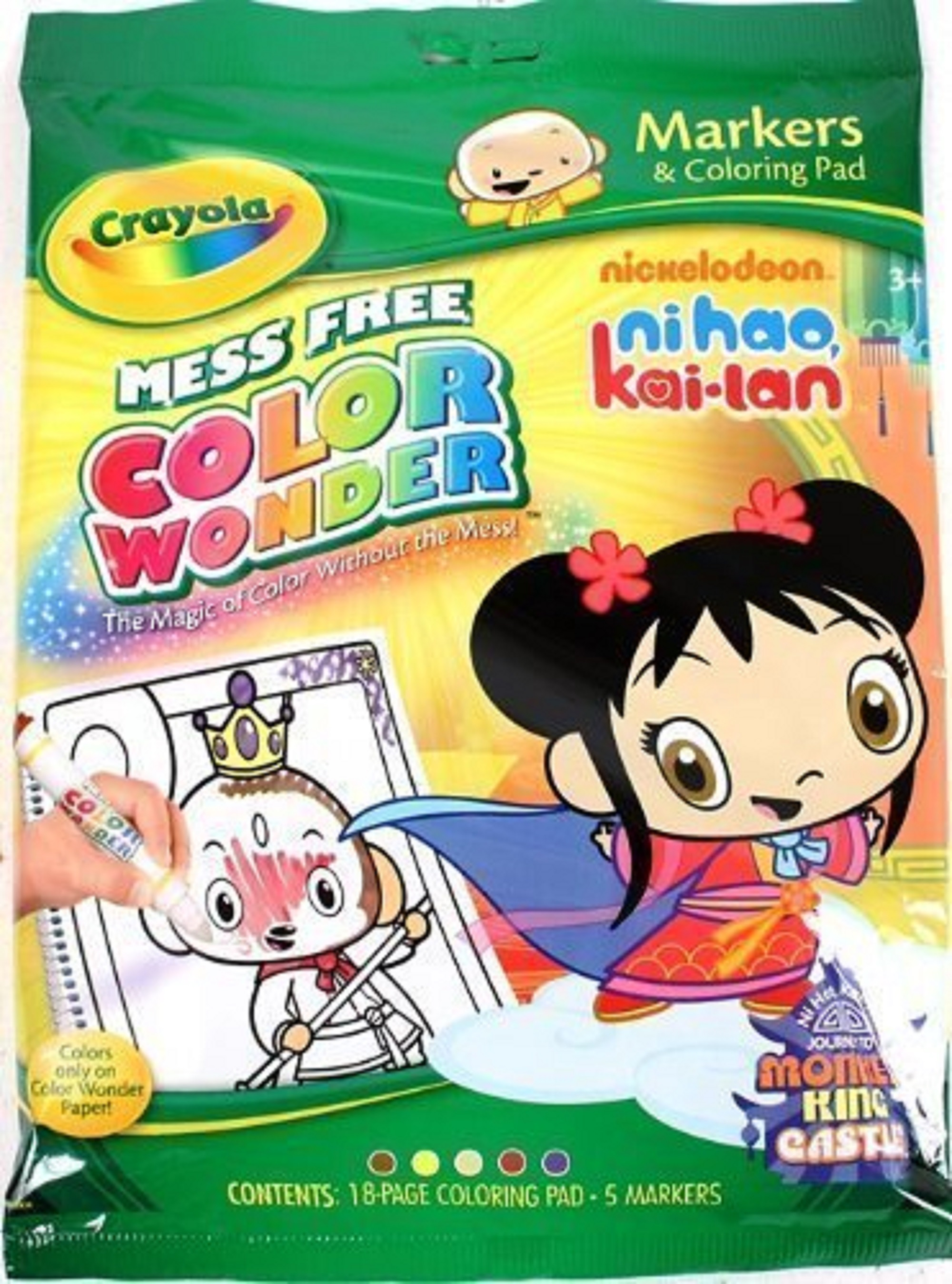 Image - Crayola Color Wonder Nick Ni Hao, Kai-Lan Journey To Monkey ...