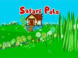 Safari Pals-Title Card