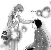 Keiichi and Nozomi