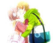 Natsuki and Anna Kiss