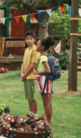 Ravi and Zuri in Pilot