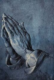 Study of Praying Hands