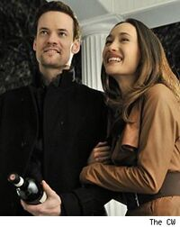 michael and nikita. it is ambiguous, seemingly, to michael as why nikita acted the way she did in saving him. episode \ and i