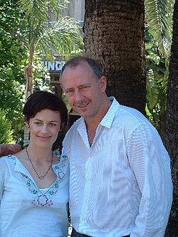 250px-GeorgeMason and Sarah Clarke