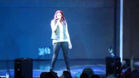Nikki Williams performs Walk of Shame