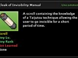 Cloak of Invisibility Technique