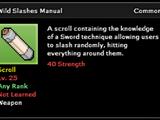 Wild Slashes Technique