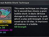 Great Bubble Shark Technique