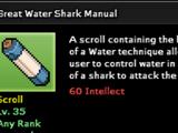 Great Water Shark Technique