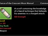 Dance of the Crescent Moon Technique