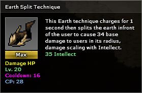 Earth split max