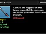 Basic Katana