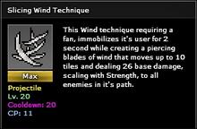 Slicing wind-lvled
