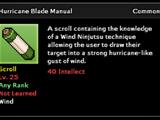 Hurricane Blade Technique