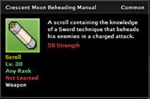 Crescent Moon Beheading Manual