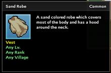Sand Robe