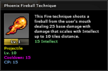 Phoenix Fireball Level 1