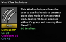 Wind claw