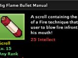 Big Flame Bullet Technique