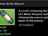 Water Bullet Technique