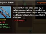 Religious Katana