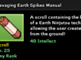Ravaging Earth Spikes Technique