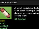 Earth Wall Technique
