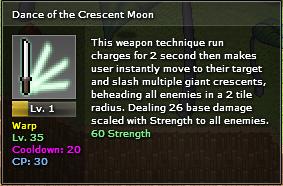 Crescent moon jutsu