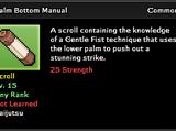 Palm Bottom Technique