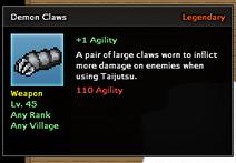 Demon Claws
