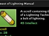 Feast of Lightning Technique