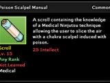 Poison Scalpel Technique