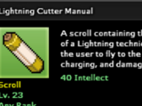 Lightning Cutter Technique