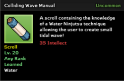 Colliding Wave Technique Scroll Infobox