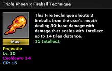 Triple fire max