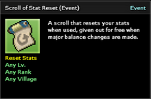 Scroll of Stat Reset
