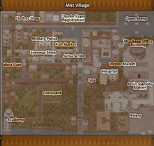 Mist Village map