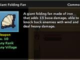 Giant Folding Fan